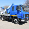 Автогидроподъемник SOCAGE T318 на шасси МАЗ-4371N2 (двухрядная кабина)