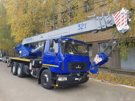 Автокран КС-5571BY-C-22