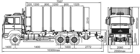 МАЗ(6317Х9-444) (6X6)