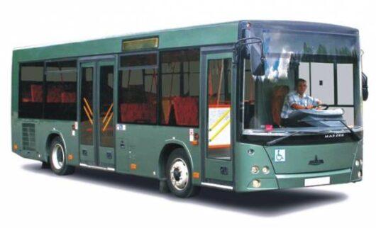 Пасажирська техніка МАЗ-206063 приміський (Євро-5)