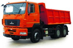 Самосвал МАЗ-6501C5-582-000 (-584-000)