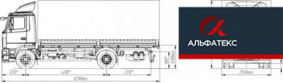 МАЗ-4381N2-522-000 (-522-030)