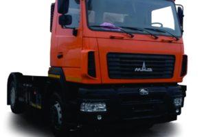 Шасси МАЗ-5550С3-540-000 (-541-000) (Евро-5)