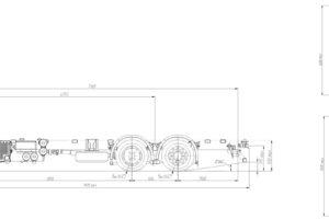 Шасси МАЗ-6310Е9-525-031 (-8525-031) (Евро-5)