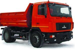 Самосвал МАЗ-5550С3-580-000 (-581-000)