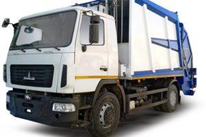 Мусоровоз МАЗ 5904С2-010 «Сапфир» с задней загрузкой