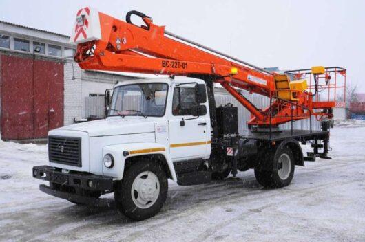 Автогидроподъёмник ВС-22Т
