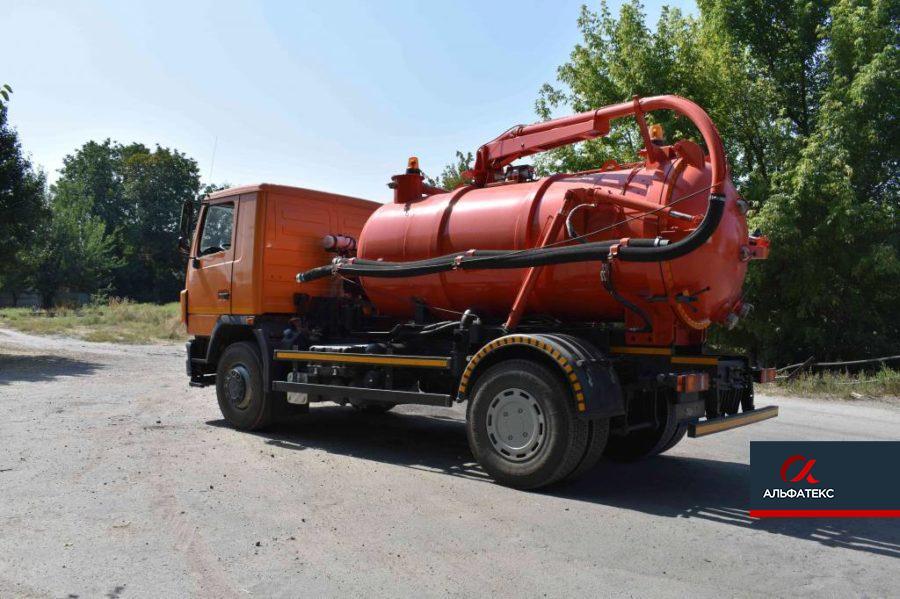 Машина илососная АТ МВ-0103 на шасси МАЗ-5340С2