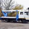 Автогидроподъёмник SOCAGE 22T на шасси МАЗ-4371N2 (дабл кабина)