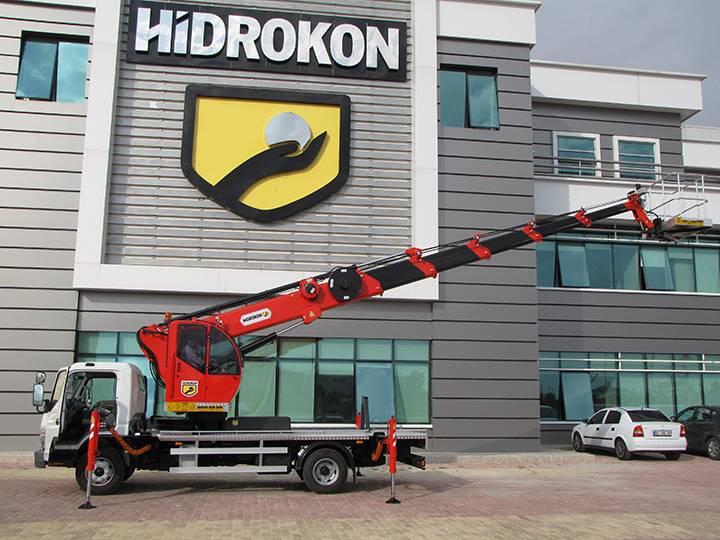 Автогидроподъёмник HIDROKON HK 30 TP6