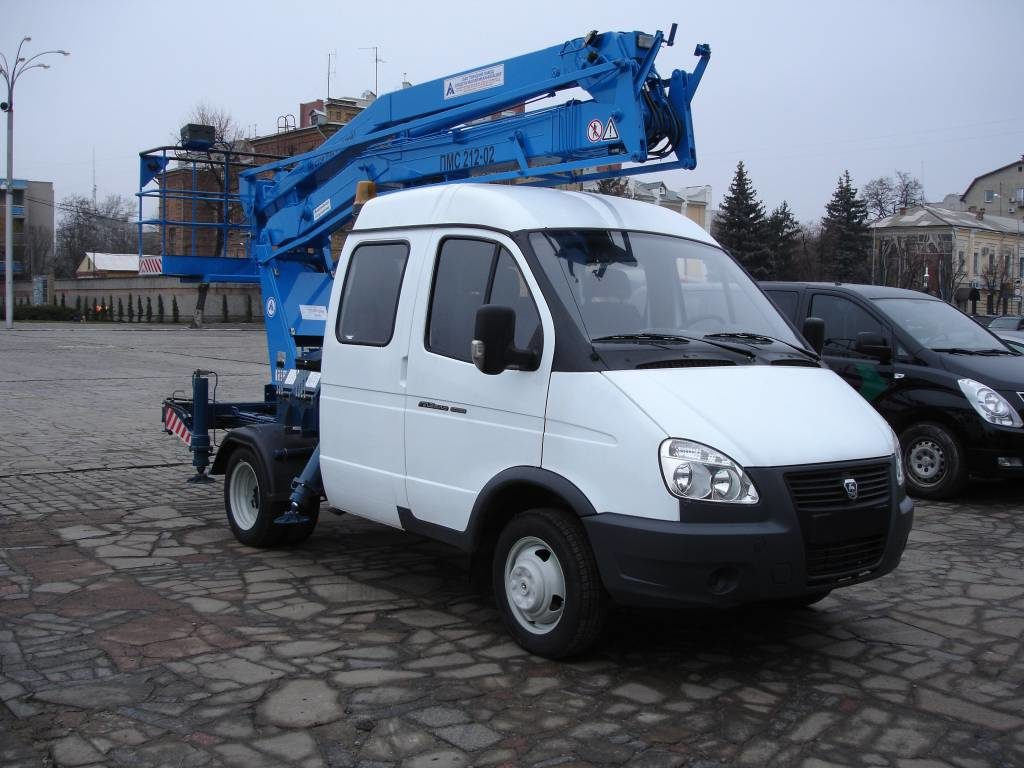 Автогидроподъёмник ПМС-212-02
