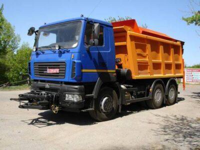 Машина дорожная комбинированная на шасси МАЗ-6501С5 (6x4)