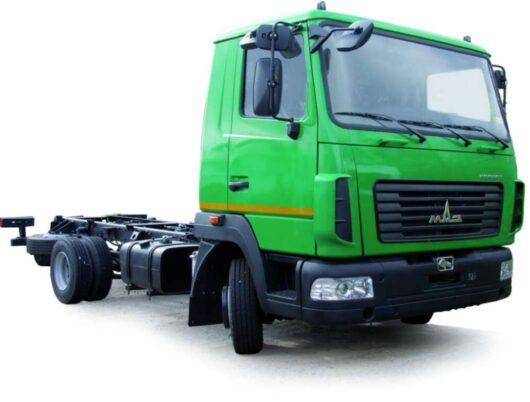 Шасси МАЗ-4371V2-550-000 (-590-000)