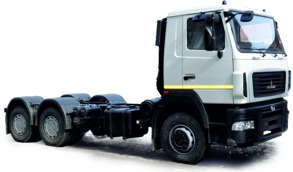 Шасси МАЗ-6312V5-545-010 (Евро-5)
