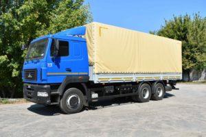 Бортовой автомобиль  МАЗ-6312С5-8521-010