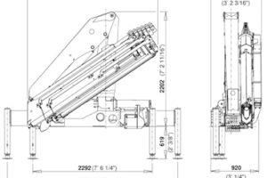 Бортовой автомобиль МАЗ-5340C5 с КМУ Palfinger PK15500
