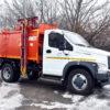 Мусоровоз с боковой загрузкой АТ-1022 на шасси ГАЗ-С41R13 (ГАЗ NEXT)