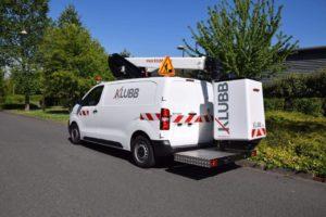 KLUBB K21B на базе фургона Peugeot Expert