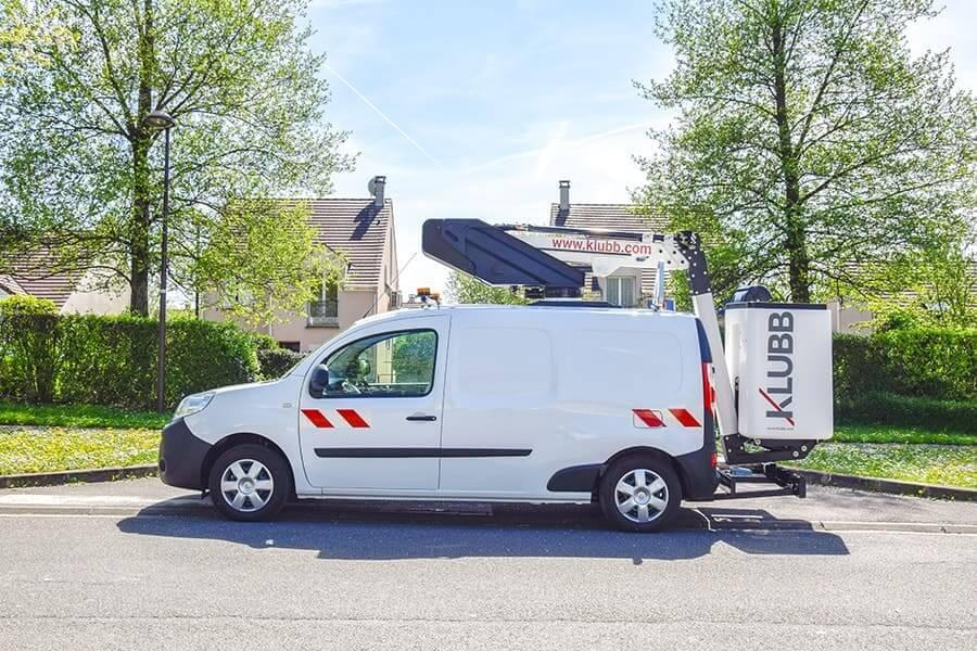 KLUBB K20 на базе фургона Renault Dokker
