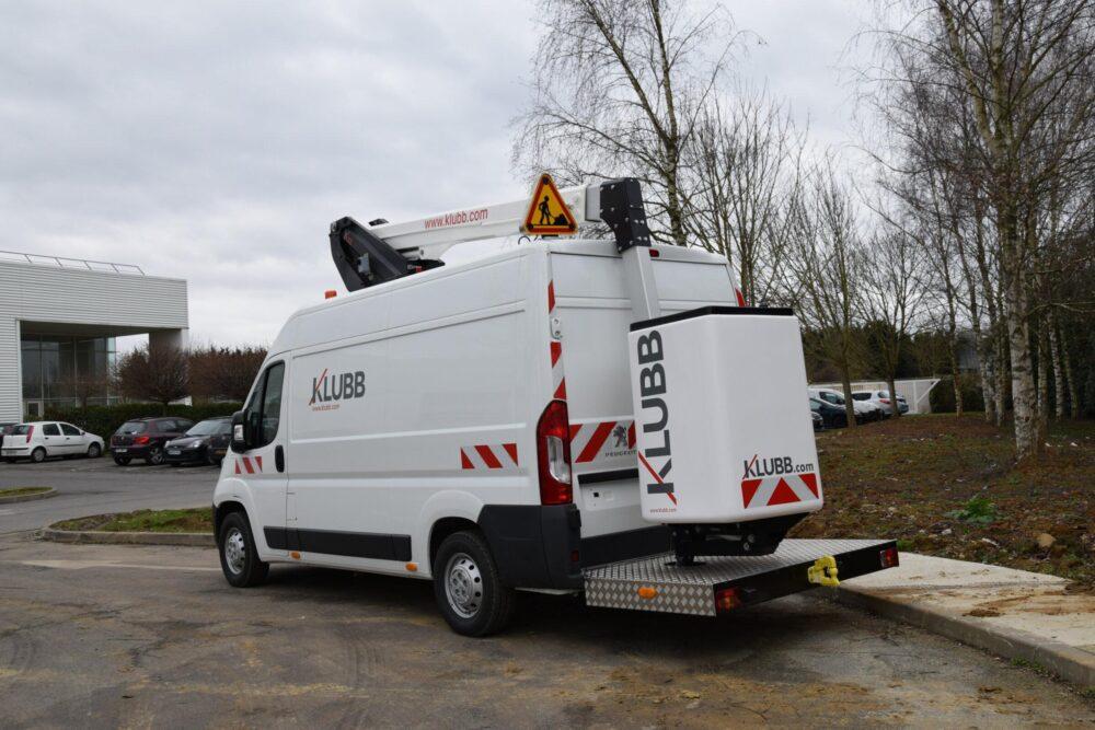 KLUBB K32 на базе фургона Peugeot Boxer
