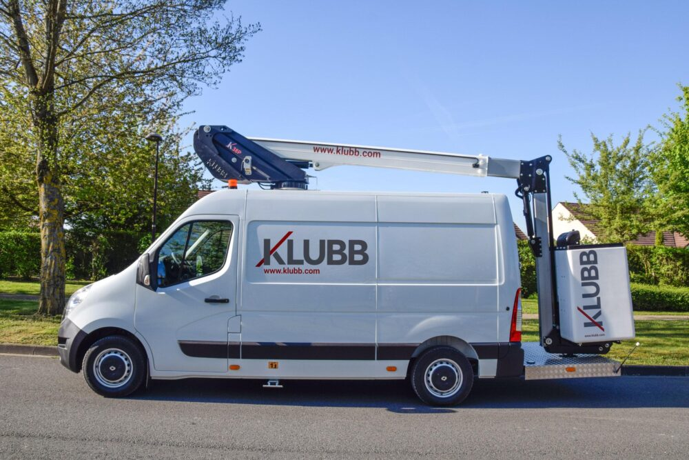 KLUBB K38P на базе фургона Renault Master
