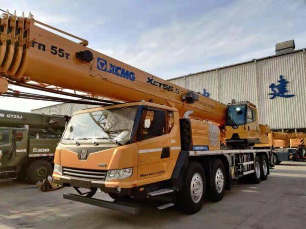 Автокран XCMG XCT55_S (55 тонн)