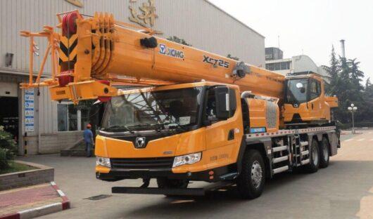 Автокран XCMG XCT25L4_S (25 тонн)