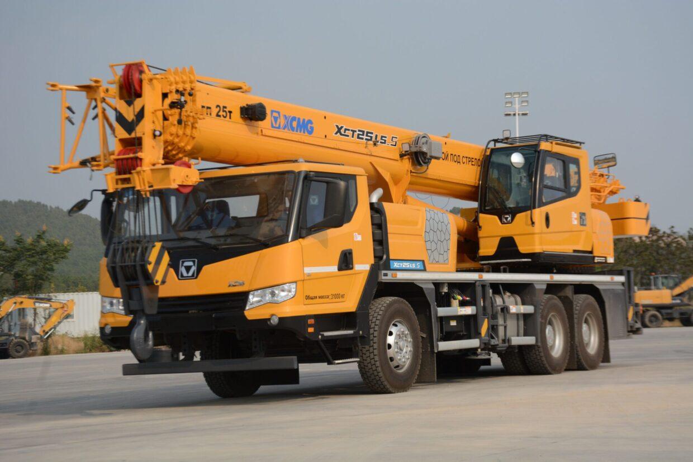Автокран XCMG XCT25L5_S (25 тонн)