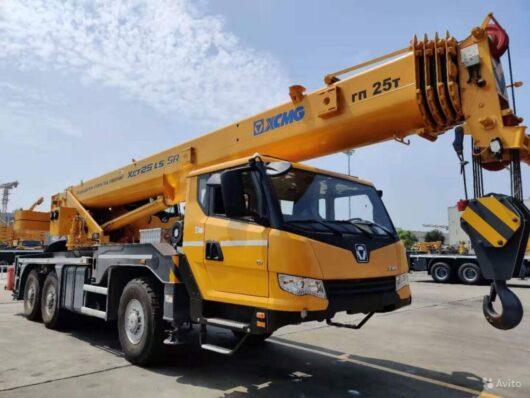 Автокран XCMG XCT25L4_SR (25 тонн, 6х6)