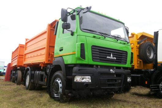 Зерновоз МАЗ-555026-4525-000