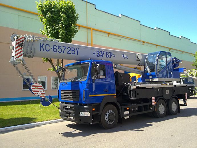 Автокран КС-6572BY-C