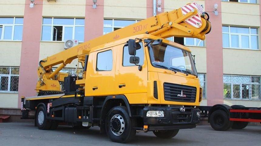 Автовышка АГП-30-H