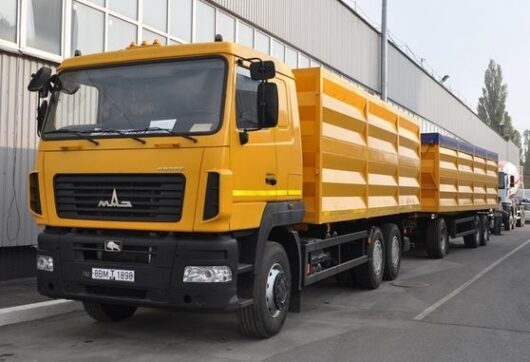 Зерновоз МАЗ-6501С9-8535-000
