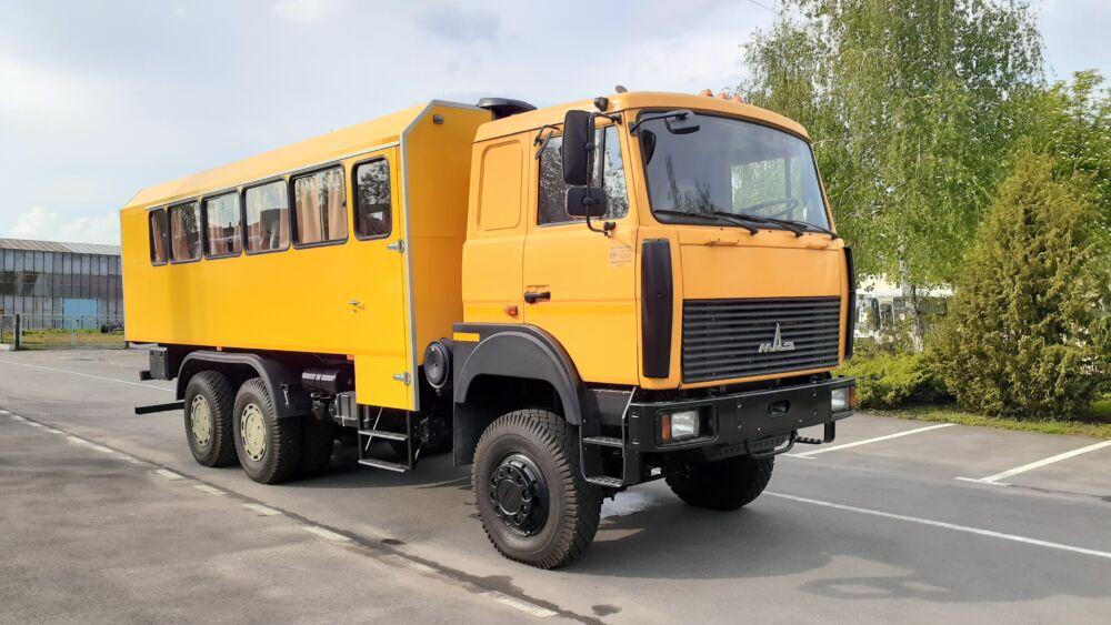 АЛЬФАТЕКС представляет вахтовый автомобиль на шасси МАЗ-6317Х5