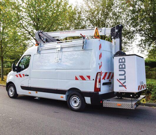 KLUBB K42P на базе фургона Renault Master