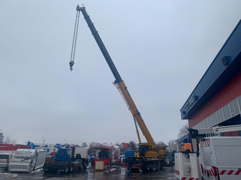 Автокран XCMG серии XCT будет работать в Полтавской области