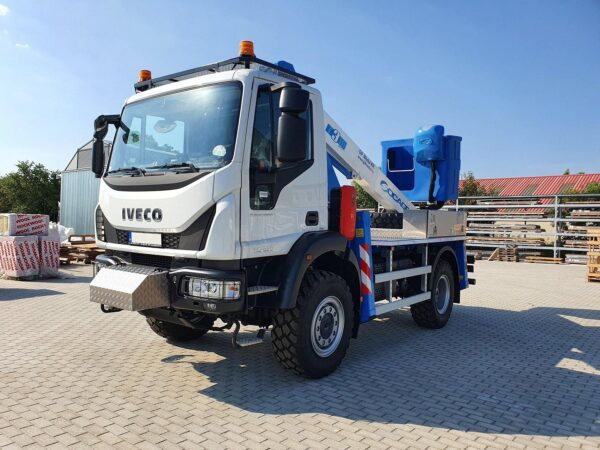 Автогидроподъемник T318 на шасси IVECO Eurocargo 4x4