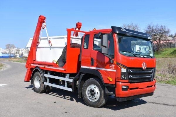 Портальный мусоровоз АТ-4034 на шасси DAYUN CGC1140